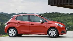 peugeot 208 red 2017 peugeot 208 review