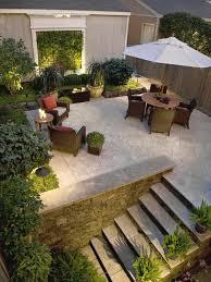 bodenbelag treppe design inspiration garten beton bodenbelag treppe rattan möbel