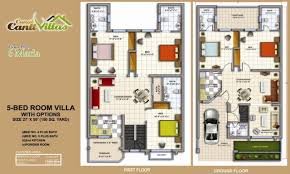 marla modern villas design in pakistan