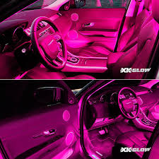 Truck Lighting Ideas by Amazon Com Pink 4pcs 36 Led Waterproof Three Mode Neon Accent