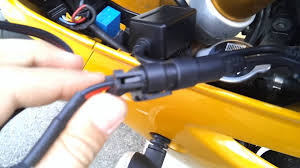 how to install hid u0027s on a motorcycle youtube