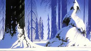eyvind earle christmas cards eyvind earle american artist