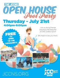 house pool party open house pool party