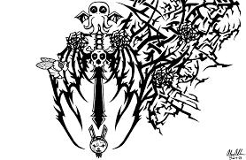 crazy tribal tattoo by fadedshadow on newgrounds