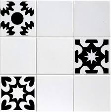 tile decals for kitchen backsplash set of six 6 vinyl tile decals 3 designs boho
