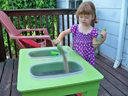 Sand Table Ideas See How To Make A Pvc Pipe Sand And Water Table Craft Sand