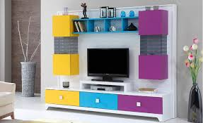 Efes High Gloss TV Unit TV UNITS Lynda Marconi London UK - Bedroom furniture wall unit