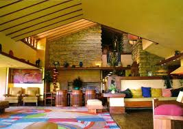 Taliesin West Interior Art Now And Then Taliesin Spring Green Wisconsin