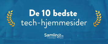 de 10 bedste tech hjemmesider i danmark samlino dk
