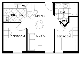 1000 Sq Ft Apartment by Jsm Apartments