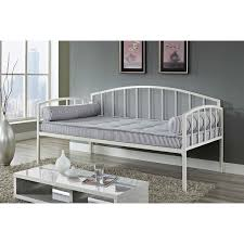 Metal Framed Sofa Beds Size White Metal Day Bed Frame 600 Lb Weight Limit