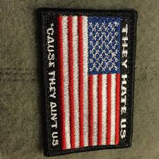 State Flag Velcro Patches They Us U0027cause They Ain U0027t Us Flag Patch Tactical Outfitters