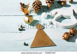 christmas angel decoration handmade stock images royalty free