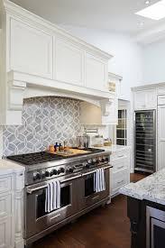kitchen white geometric kitchen backsplash geometric tile