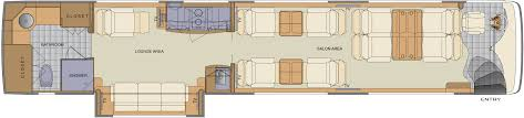 type b motorhome floor plans floorplan choices newell coach