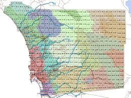 Map Of San Diego County by Atlas Grid Maps