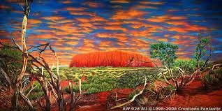 Backdrop Ayers Rock 2 Backdrops Fantastic Australia
