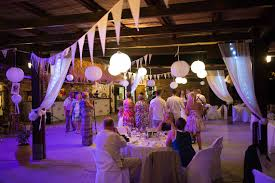 creations wedding ceremony and reception decoration in