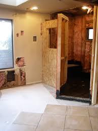 bathroom shower no glass home bathroom design plan