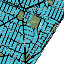 Map Of Montreal Town Of Mont Royal Map Print Extended Version U2013 Jelly Brothers