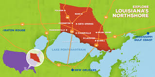 Louisiana Parish Map With Cities by St Tammany Parish Louisiana Northshore Hotels Things To Do