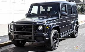 blacked out mercedes benz g63 on blacked images tractor service