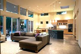 modern open floor house plans open concept house designs modern open plan loft space open concept