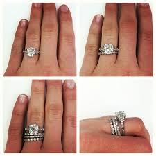 wedding band ideas 25 best mismatched wedding bands ideas on diamond inside