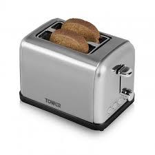 Bread Toasters 2 Slice Stainless Steel Toaster Toasters