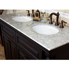 white sink black countertop unique double sink vanity countertops design ideas bathroom