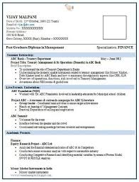 free resume formats simple resume format for freshers free template s