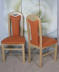 esszimmer buche 2 x stuhl esszimmer 2er set buche massiv natur terracotta