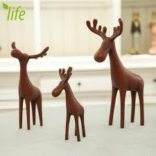 House Decoration For New Year by Christmas Gift Resin Northern Eoupean Figurines Bear Ornament Doll