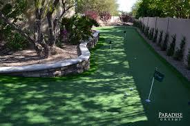the best custom putting greens in arizona paradise greens