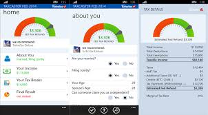 Estimate Tax Refund 2014 by Calculate Your Income Taxes With These Windows Phone Apps