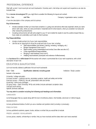 guidelines for what to include in a resume resume guideline therpgmovie