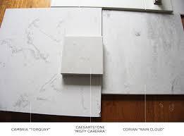 Corian Vs Quartz Countertops Like Carrara Marble Carrara Marble Carrara And Marbles
