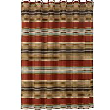 calhoun western shower curtain