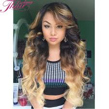 ombre weave hot peruvian wave 4pcs ombre 1b 4 27 with closure cheap hair