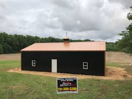pole barns metallic copper black 30x48x12 pole barn reed u0027s metals