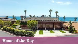 laguna beach house strikes a contemporary poise la times