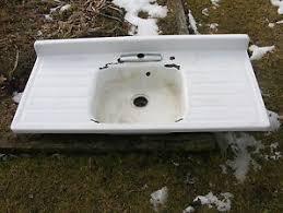 VintagePeriod Kitchen Sinks Collection On EBay - Enamel kitchen sink