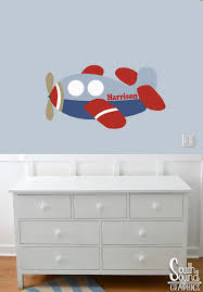 Airplane Kids Room by Fabric Wall Decal For Boys Nursery And Kids Rooms Airplane Room