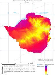 Zimbabwe Map Endemic Countries U2013 Malaria Atlas Project