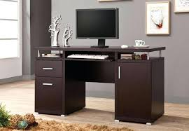 Metro Studio Solid Wood Computer Desk In Honey Pine 99042 by Emejing Wooden Computer Tables For Home Pictures House Design