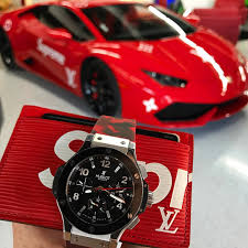 lamborghini logan paul supreme essentials hublot louisvuitton lamborghini horusstraps