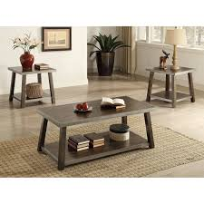 coffee table and end table sets 2 vienna coffee table and 2 end tables
