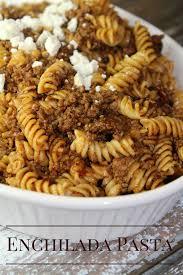 easy one pot enchilada pasta instant pot recipes