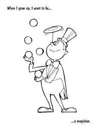 clown occupations coloring pages 30794 bestofcoloring com