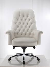 Desk Chair White by New White